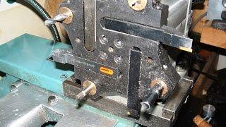 Denford Orac CNC lathe turning, grooving, bowl. Thumbnail