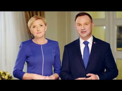 Poland, President Andrzej Duda and First Lady Agata Kornhauser-Duda
