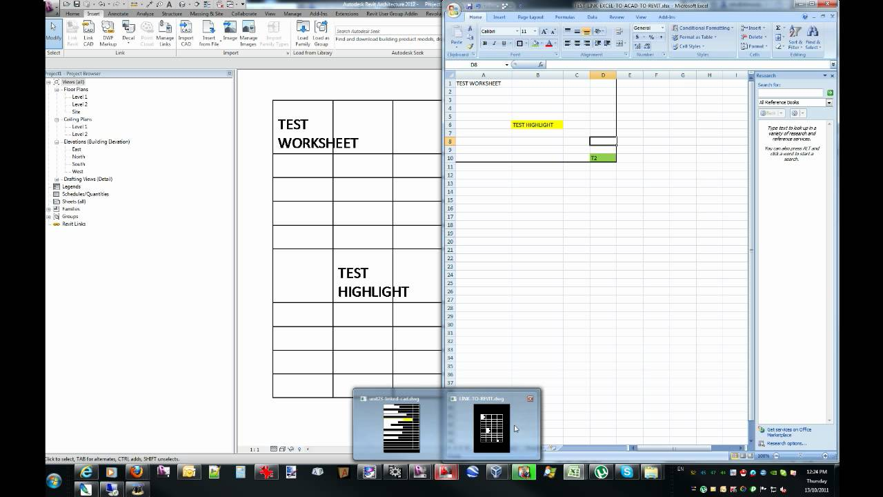 worksheet Link Data In Excel Worksheets link excel spreadsheet data into revit youtube revit