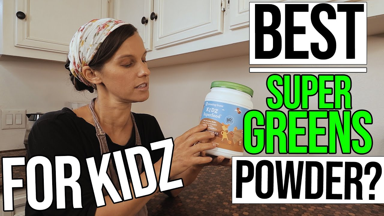 Best Super Greens Powder For KIDZ?/ Amazing Grass Kidz Superfood Review!