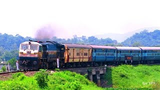 12346 Guwahati Howrah Jn Saraighat Express With SGUJ WDP4D