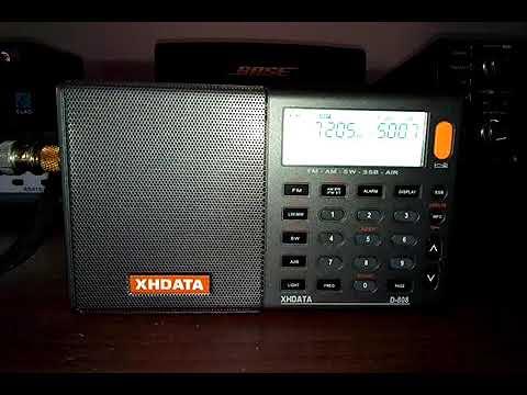Testing XHDATA D-808 Radio Omdurman Sudan on 8/2/18 @ 19:08