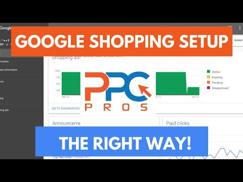 Google AdWords Shopping Campaign Setup - The Right Way!