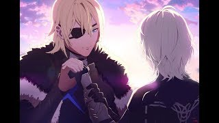 Fire Emblem Three Houses - Male Byleth and Dimitri (S Rank Support)