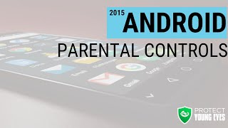 Android Parental Controls - Protect Young Eyes(A short video showing parents how to use parental controls and other functionality so that we can help our kids use technology well. Please visit ..., 2015-10-15T05:02:19.000Z)