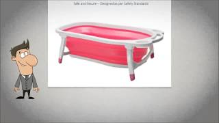 Baby Bath Tub by R For Rabbit Baby - Comes With Green and Orange