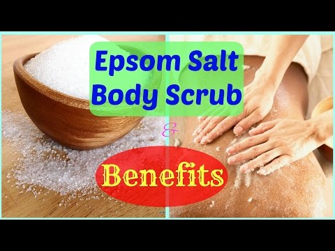 Epsom Salt Body Scrub💗Its Amazing Benefits💓 Lovely Beauty Tips