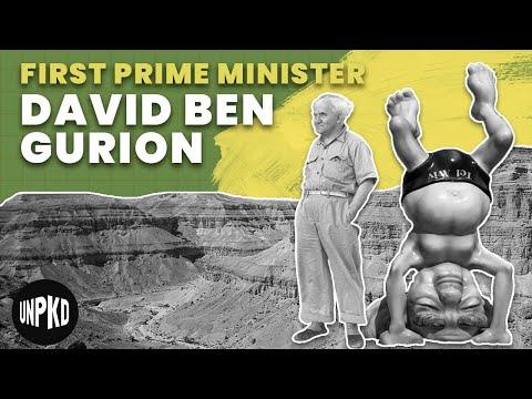David Ben Gurion - Israel's First Prime Minister