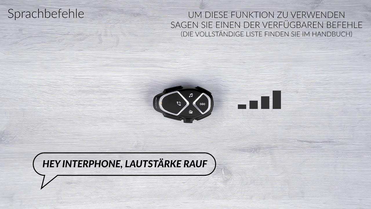 Interphone Avant, Sprachbefehle