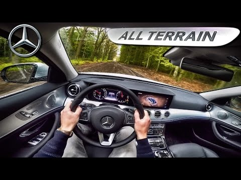 Mercedes Benz E Class ALL TERRAIN POV Test Drive by AutoTopNL