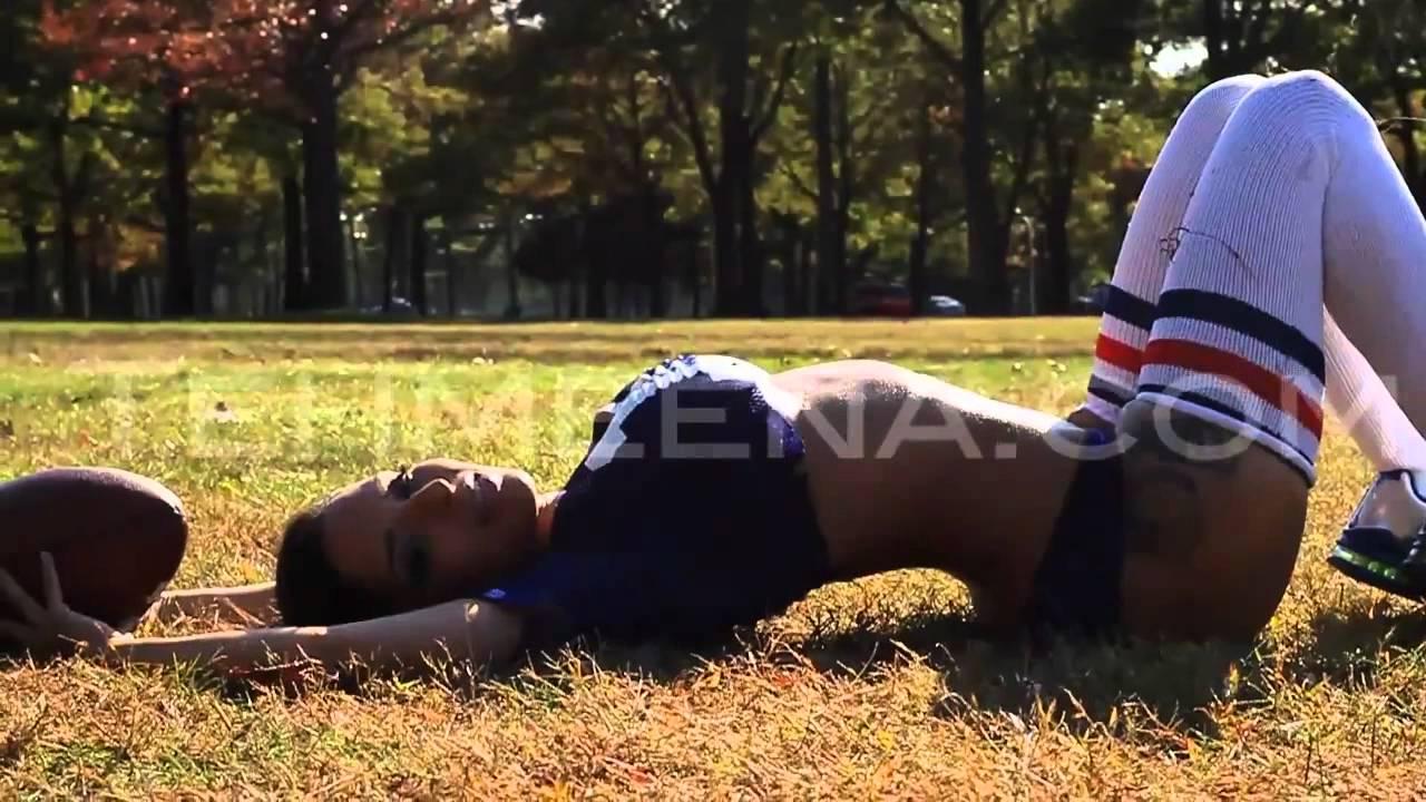 Tehmeena Afzal NY Giants wmv - YouTube  Tehmeena Afzal ...
