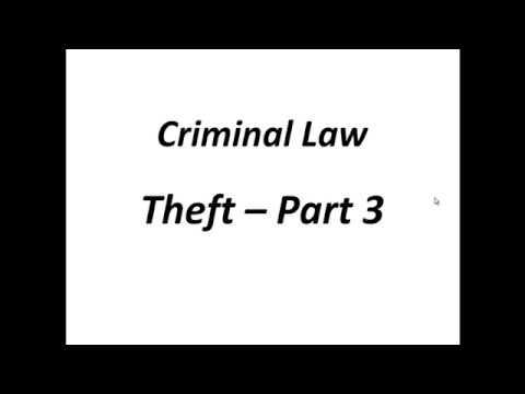 Criminal Law Theft Sec 378 Part 3