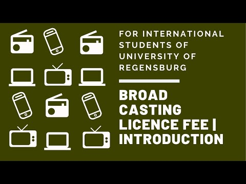 Broadcasting Licence Fee | Introduction