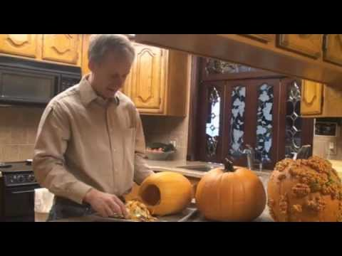 Easier way to Carve and Clean Out Your Halloween Pumpkin with Examples