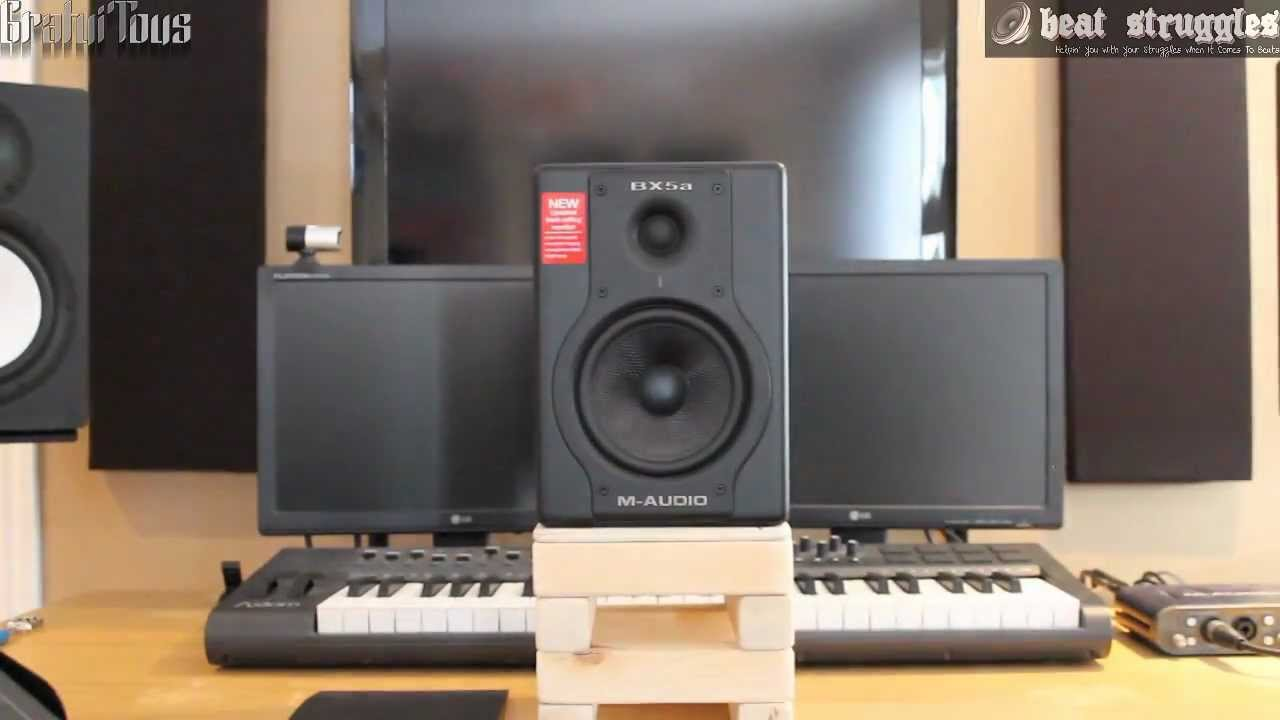 m audio bx5a deluxe review beatstruggles youtube. Black Bedroom Furniture Sets. Home Design Ideas