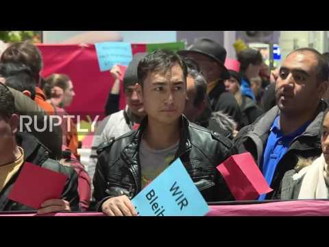 Germany: Activists march on Frankfurt airport over deportation of Afghan refugees