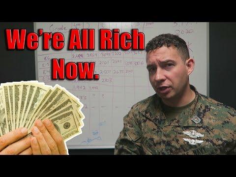 MILITARY PAY 2020 - Crazy High Bonus This Year