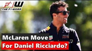 McLaren Make Move For Daniel Ricciardo?