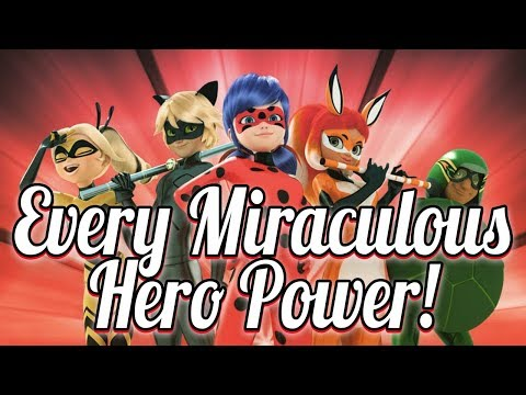 EVERY Miraculous Hero Power! - Miraculous Ladybug