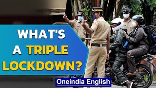 Triple lockdown in Kerala's 4 districts: How does it work? | Oneindia News