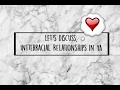 KEY RECOMMENDS: INTERRACIAL RELATIONSHIP READS + INTERRACIAL RELATIONSHIPS IN YA: A DISCUSSION
