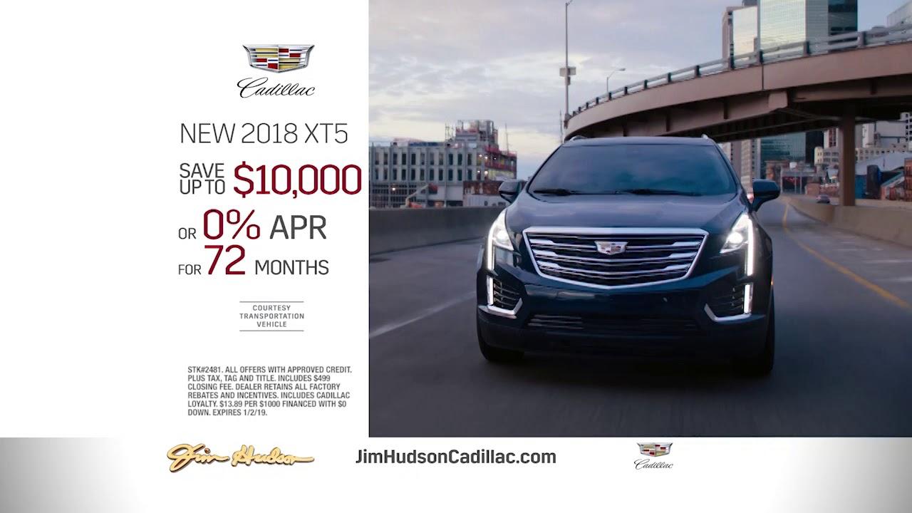 Season S Best Sales Event 2018 Xt5 10 000 Off At Jim Hudson