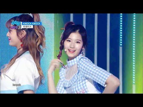 【TVPP】 TWICE - Knock Knock, 트와이스 - 낙낙 @Show Music Core Live