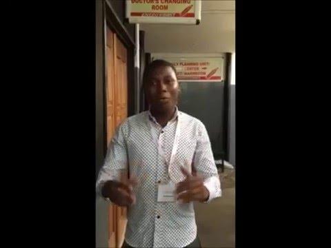 Ghana Outreach trainee: tell us why you Love Ultrasound?