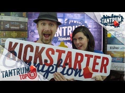 Top 10 Board Games on Kickstarter 2017 that we reviewed
