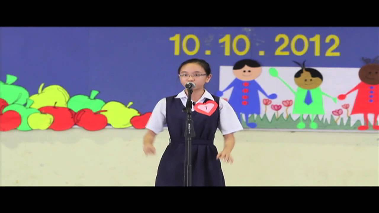 Selangor State English Story-Telling Competition 2012 - The Floating Stone