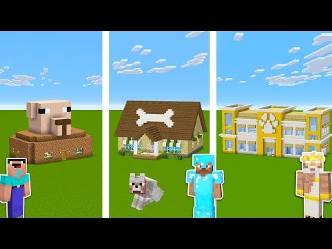 Minecraft NOOB Vs PRO Vs GOD: PET SHOP In Minecraft / Funny Animation