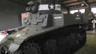 Смотреть видео Россия 2017. Танковый музей (День 7) онлайн