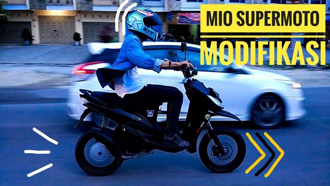 16 Modifikasi Mio M3 Supermoto Konsep Terkini