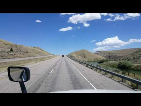 BigRigTravels - Montana Interstate 15 North from milemarker 34 to Butte July 19, 2016