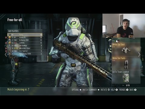 THIS IS AMAZING (Exclusive OpTic Gaming White Exo)