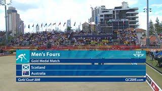 CG2018 Lawn Bowls - Mens Fours Final - Scotland vs Australia