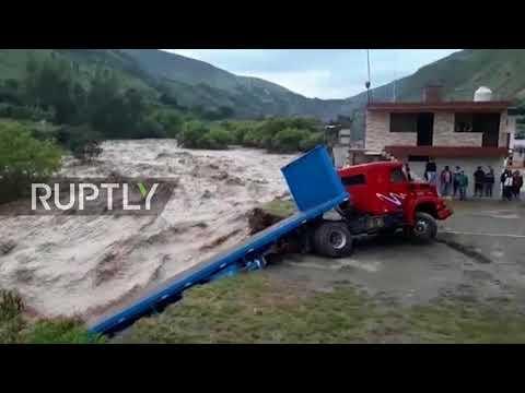 Peru: Floods batter central mountainous regions