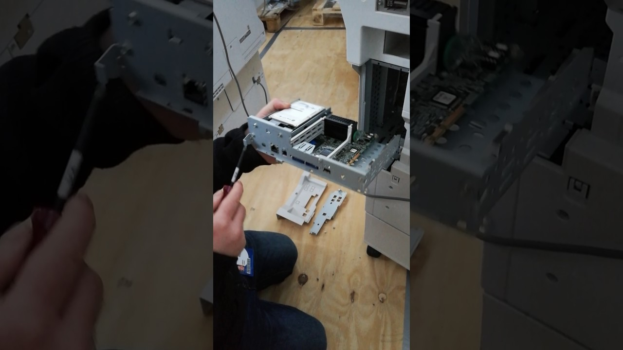 How to remove the HDD