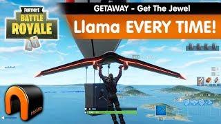 Fortnite GETAWAY Get The JEWEL LlAMA CHAQUE TEMPS!