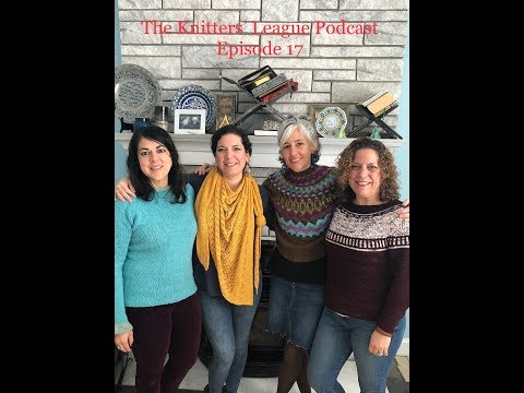 The Knitters' League Podcast:: Episode 17