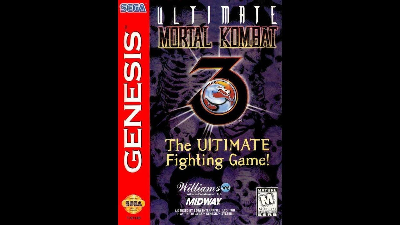 Mortal Kitana Kombat Sega Genesis