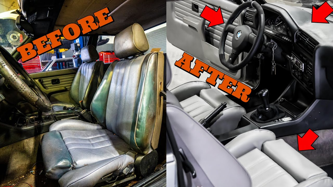 Here's How I Made The Interior of My 31 Year Old BMW E30 Look Modern Again On A Budget (PART 2)