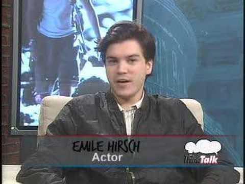 Interview with Emile Hirsch on ThinkTalk's Spotlight show