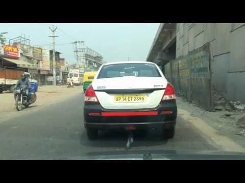 (Timelapse) INDIA: Faridabad to Delhi