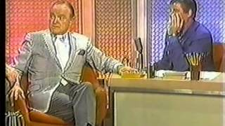Tonight Show with guest host Jerry Lewis interviewing Bob Hope 1970