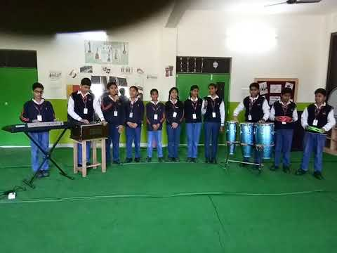 Jaipuria anthem by my students