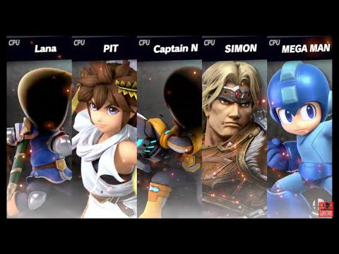 Super Smash Bros Ultimate Amiibo Fights Request #1126 Captain N the Game Master