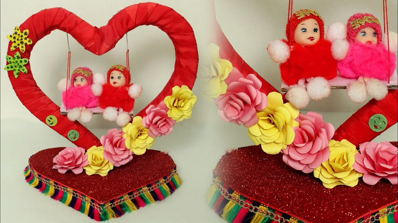 Fancy Wow Diy Showpiece Making At Home Handmade Things