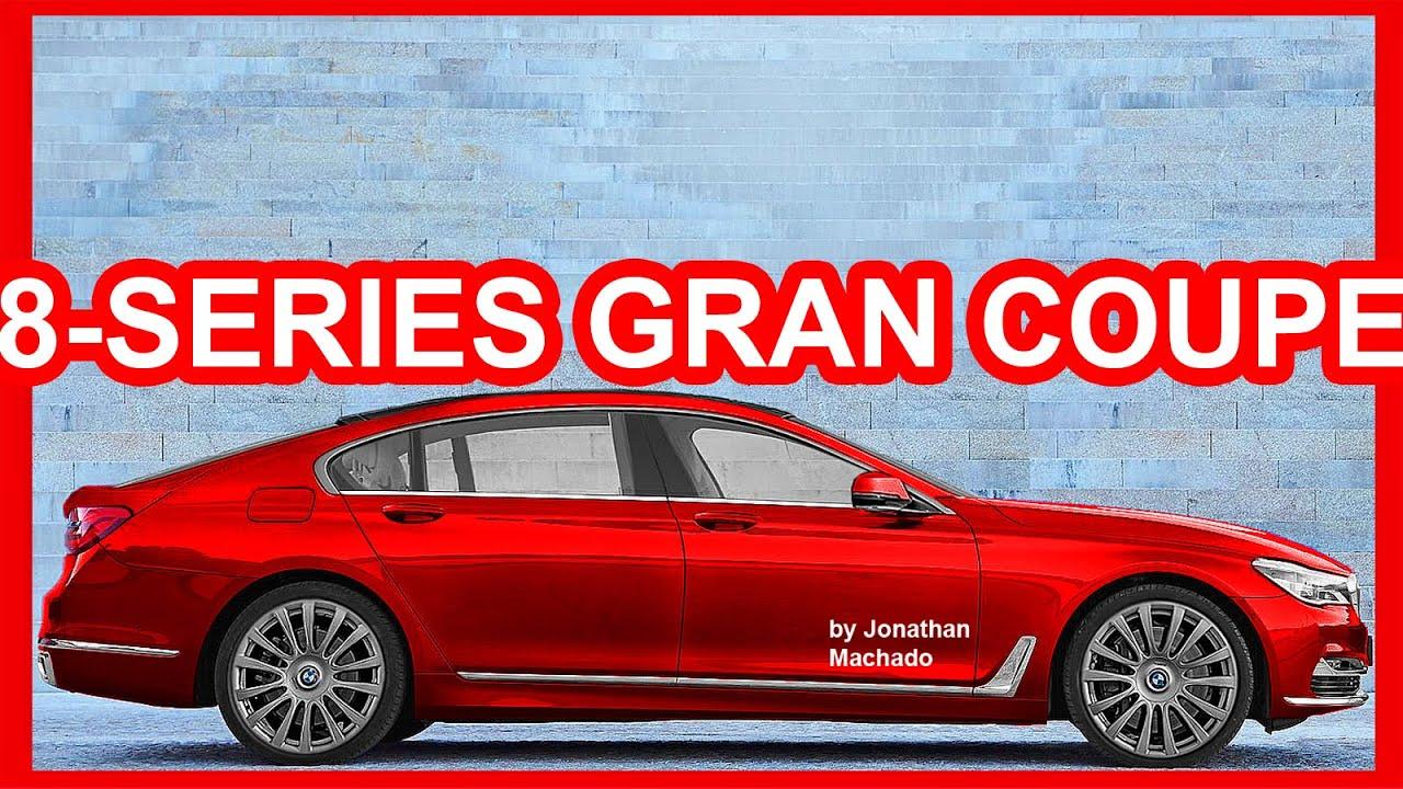 PHOTOSHOP Novo BMW Srie 8 Gran Coup 2019 BMW  YouTube