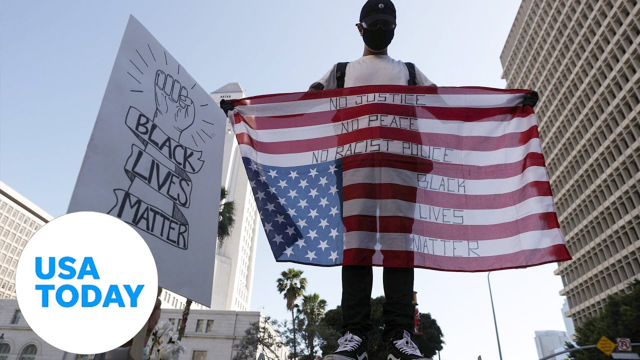 Demonstrations continue on Thursday across the country over George Floyd's death | USA TODAY